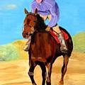 Beach Rider by Rodney Campbell