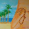 Beach Side View by Art Mantia