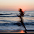 Beach Sprint by Brad Rickerby