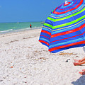 Beach Umbrella by Carol McCutcheon