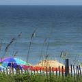 Beach Umbrellas by Teresa Mucha