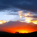 Beautiful Utah Sunset by Goldie Pierce