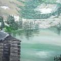 Beautiful Water Cabin by Laura Hogzett