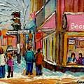 Beautys Luncheonette Montreal by Carole Spandau