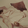 Bed Creature I by Alida Frey