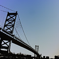Ben Franklin Bridge by Bill Cannon