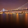 Ben Franklin Bridge by Richard Williams Photography