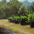 Bend In The Road by Karen Ilari