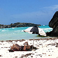 Bermuda On The Beach by Ian  MacDonald