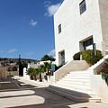 Bethlehem - Convention Palace South Entrance by Munir Alawi