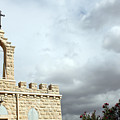 Bethlehem - Milk Grotto Cross by Munir Alawi