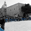 Bethlehem - Nativity Square by Munir Alawi