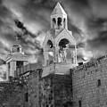 Bethlehem With Cloudy Sky by Munir Alawi