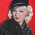 Betty Grable by Dyanne Parker