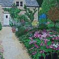 Bibury Garden Path by Keith Wilkie