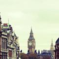 Big Ben As Seen From Trafalgar Square, London by Image - Natasha Maiolo