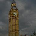 Big Ben During Storm by Dave Sribnik