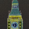 Big Ben Glowing by Charles  Ridgway