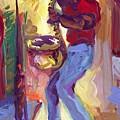 Big Sax by Saundra Bolen Samuel