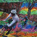 Biking In Mn  by Donald Pavlica