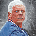 Bill Parcells by William Bowers
