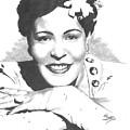 Billie Holiday by Van Beard