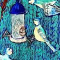 Bird People The Bluetit Family by Sushila Burgess
