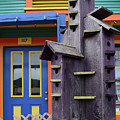 Birdhouses For Colorful Birds 2 by Bob Christopher
