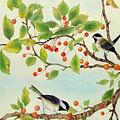 Birds In Autumn Season II by Ying Wong