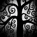 Black And White Tree by Angelina Vick