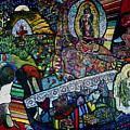 Blessing Of El Pescadero Mural by Angelina Marino