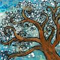 Blossom Tree - Miniature Art by Jennifer Kelly