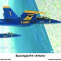 Blue Angels by Dennis Vebert