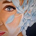 Blue Audrey by Al  Molina