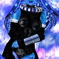 Blue Beauty by Claude-Robert Policart