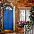 Blue Door 2 by Anna-maria Dickinson
