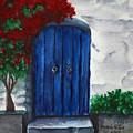 Blue Door by Georgia Pistolis