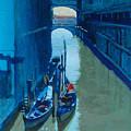 Blue Gondolas by Robert Bissett