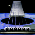 Blue Guitar 14 by Andee Design