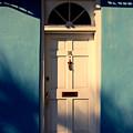 Blue House Door by Susanne Van Hulst