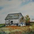 Blue Milkhouse by Mike Yazel