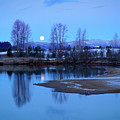 Blue Moon by Idaho Scenic Images Linda Lantzy
