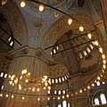 Blue Mosque Interior by Sami Sarkis