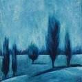 Blue Serenity by Ellen Lewis