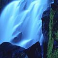 Blue Waterfall by Bernard Jaubert