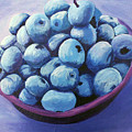 Blueberries by Karen Aune