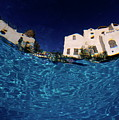 Blurred View Of A Hotel From Underwater by Sami Sarkis