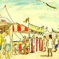 Boardwalk Artshow Virginia Beach by Vic Delnore