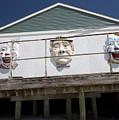 Boardwalk Clowns by Mary Haber