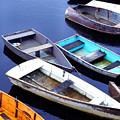 Boat Dock Camp Ellis by Thomas R Fletcher